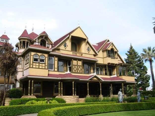The Winchester Mystery House is advertised all over California. It's an architectural oddity that is chock full of history.